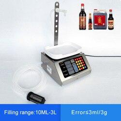 10ml-3L маленькая автоматическая машина с ЧПУ для наполнения жидкостей 110 V-220 V машина для наполнения напитков, молока, духов