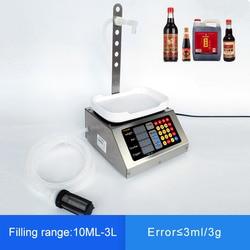 10ml-3L صغيرة التلقائي ماكينة حشو السائل باستخدام الحاسب الآلي 110 فولت-220 فولت المشروبات الحليب العطور ملء الفرعية تحميل وزنها ماكينة حشو