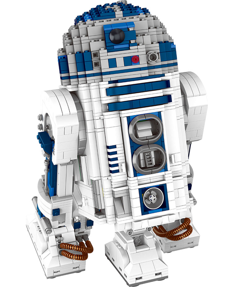 2137pcs Star Large Wars Building Block Sets The Force Awakens Robot R2-D2 Compatible Space Battle Technic Toy for Kid футболка классическая printio r2 d2 star wars dead star