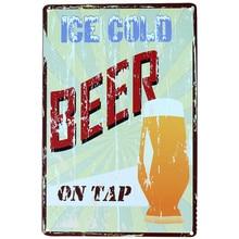 Bar / home decor vintage wall metal sign poster
