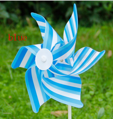 Outdoor Pinwheel Striped windmill 3