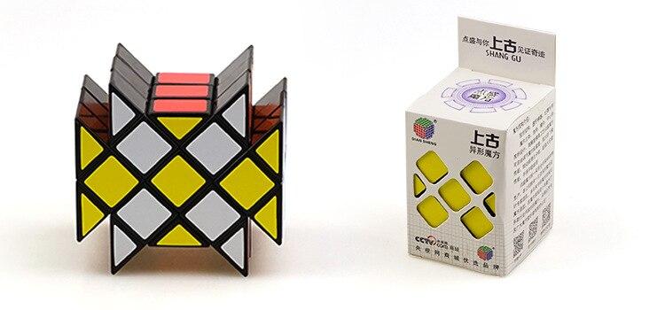 DianSheng Ancient 3x3x3 Long Brick Case Irregular Irregular Cubo magic Speed Puzzle Cubes 3x3 Cubiks Juguetes Educativo Kid Toys(China)