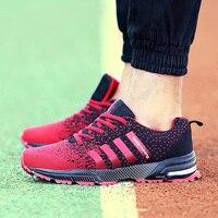 Hot Sale New Design Men Women Easy Running Shoes Outdoor Walking Breathable Mesh Lightweight Sneakers Jogging