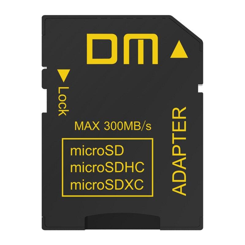 DM карты памяти SD адаптер SD4.0 UHS-II comptabile с microSD microSDHC microSDXC скорость передачи данных может до 300 МБ/с.