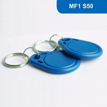 KT03 RFID Key Tag RFID Key Fob NFC Tag ISO14443A 13.56MHz for access control 1KBYTE R/W with M1 S50 Chip Free Shipping
