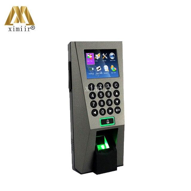 Merveilleux Fingerprint Access Control And Time Attendance F18 Fingerprint Door Entry  System Communication RS232/485,