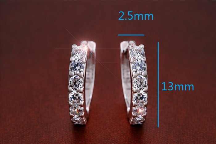 Boucles d'oreilles Almei Aretes Mujer boucles d'oreilles pour femmes mode coréenne Style boucle d'oreille cc bijoux Zircon pierre vente Ohrringe SYC51