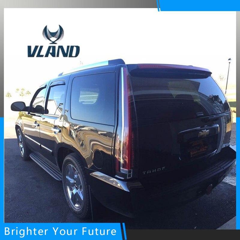 2 шт. светодиодные задние фонари подходит для Chevy Chevrolet Suburban Tahoe GMC Yukon 2007-2014 задние лампы света DRL cadillac Escalade Стиль
