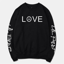 Lil Peep Sweatshirts Fashion Loose Unisex Hoodies Sweatshirt Harajuku Long Sleeve Cotton Oversized Streetwear Hoodies Lil Peep