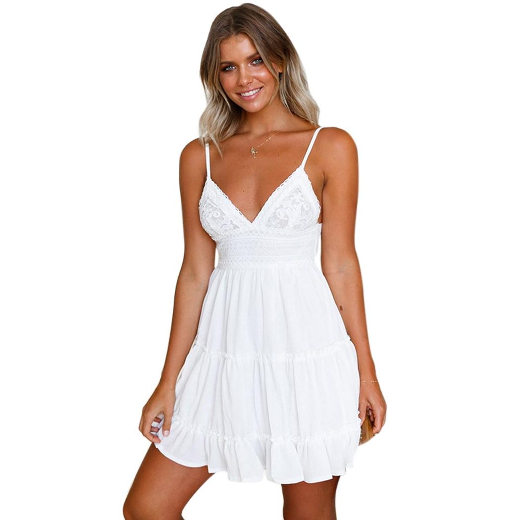 Aliexpress.com : Buy 2018 Summer Sexy Strap Backless Dress