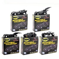 Batman Metal Batmobile Chariot Collectible Alloy car models Model Toys 7cm/2.8 5pcs/set Box Gifts gift Free Shipping