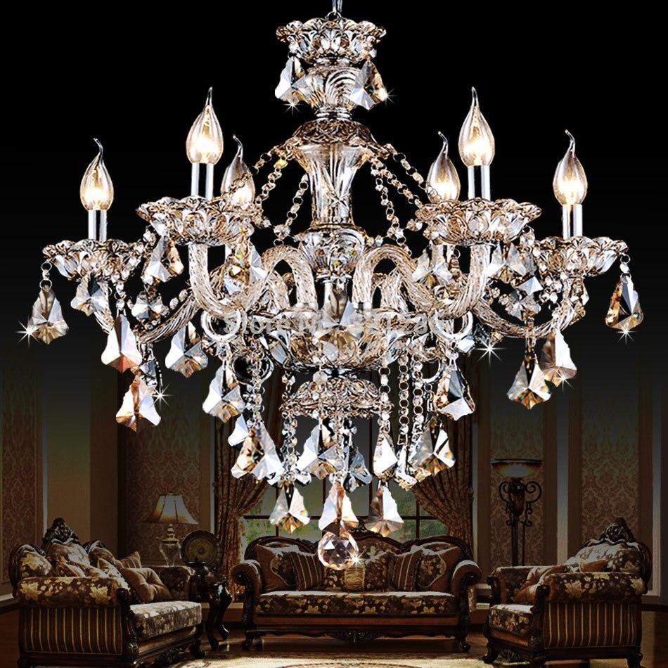 buy lustres crystal chandeliers modern k9. Black Bedroom Furniture Sets. Home Design Ideas