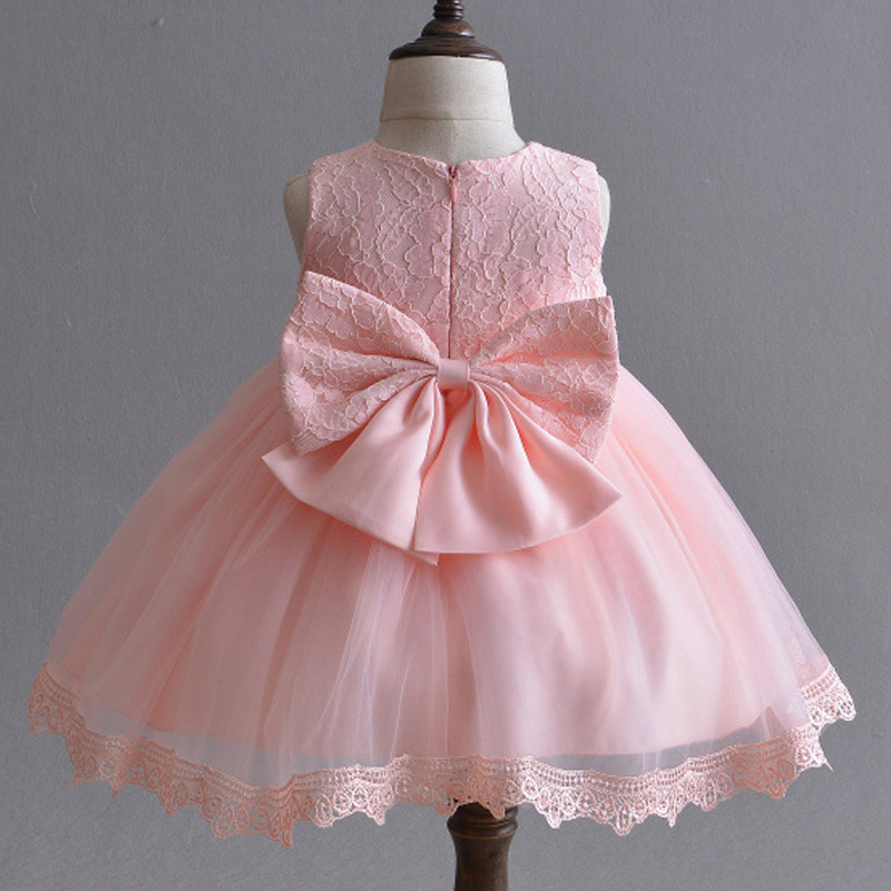 Newborn Baby Baptism Dress Baby Girl Clothes Birthday Outfits Toddler Girl Baby Wedding Princess Dress Infant Girl Clothes