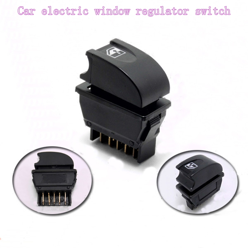1pcs Car Electric Vehicle Universal Modified Glass Lifter Power Window Switch Lift Control Switch Button авто ароматизатор полимерный черная черешня car jar ultimate black cherry yankee candle