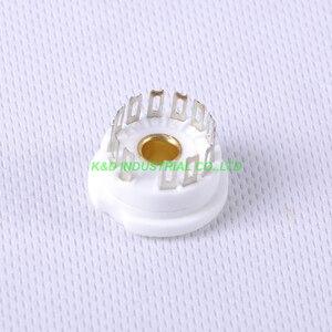 Image 3 - 4 pcs 13pin douille de Tube en céramique pour Nixie Valve pour 13pin B5092 GN4 B13B ZM1020 pièces damplificateur de Tube