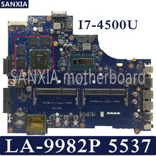 KEFU LA-9982P Laptop motherboard for Dell Inspiron 15R-5537 3537 original mainboard I7-4500U 2GB graphics card(China)
