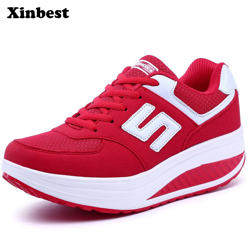 Xinbest Spring2018 New Woman Brand Outdoor Athletic Super Light Shoes For Women Training Breathable Anti-Slippery Light Snea