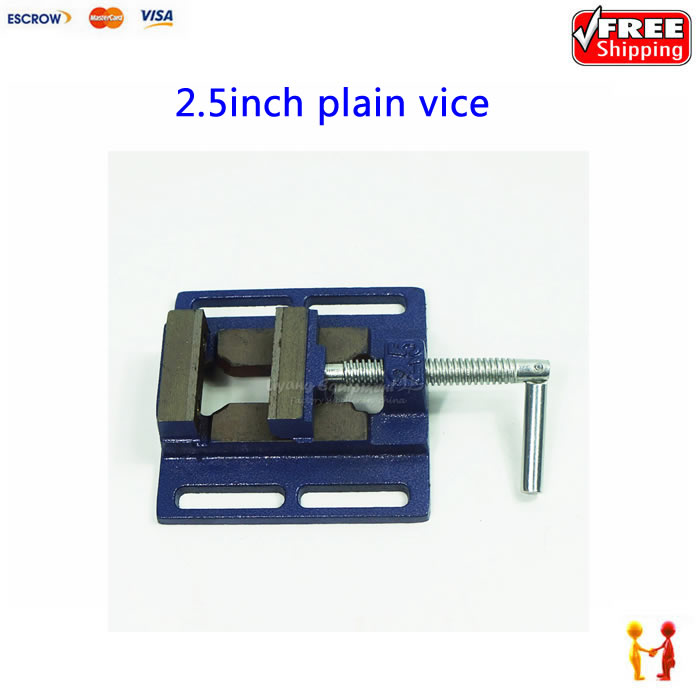 Bench clamp Jaw 2.5 inch mini table vice plain vice parallel-jaw vice for woodworking cnc router цена 2016