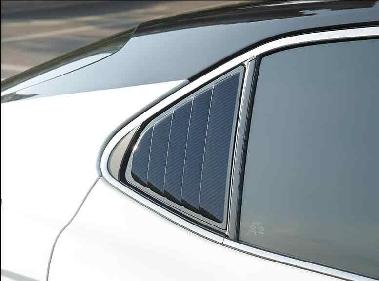 עבור טויוטה קאמרי 2019-2020 סדאן ABS אחורי דלת חלון גווני תריסי מסגרת חלון דפוס אדן כיסוי מדבקה לקצץ