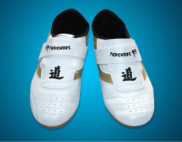 Taekwondo Shoes Adult kids soft Taekwondo Karate Taekwondo KONGFU WRESTLING Shoes