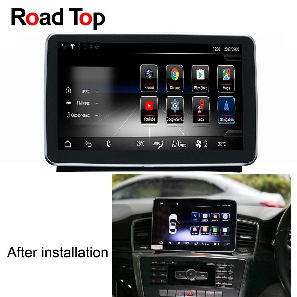 9 Android 5.1 Autoradio GPS Navigation Bluetooth Tête WiFi L'écran D'unité pour Mercedes Benz GL350 GL400 GL450 GL500 GL550 GL63 AMG