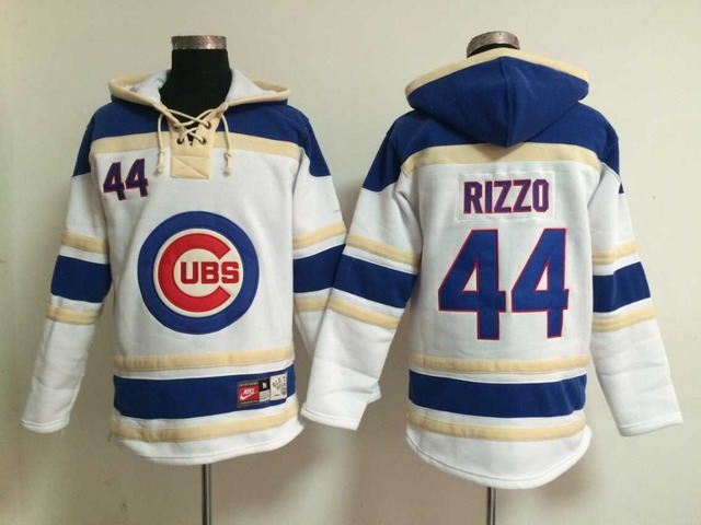 Top hot Series Chicago Cubs  44 Anthony Rizzo Hoodie Baseball Jerseys 84a96efaa20