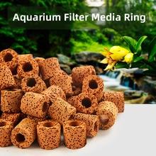 Aquarium Filter Media Fish Tank Biological Balls Activated Carbon Ceramic Rings Bio Ball Clean Water with Filter Net Bag