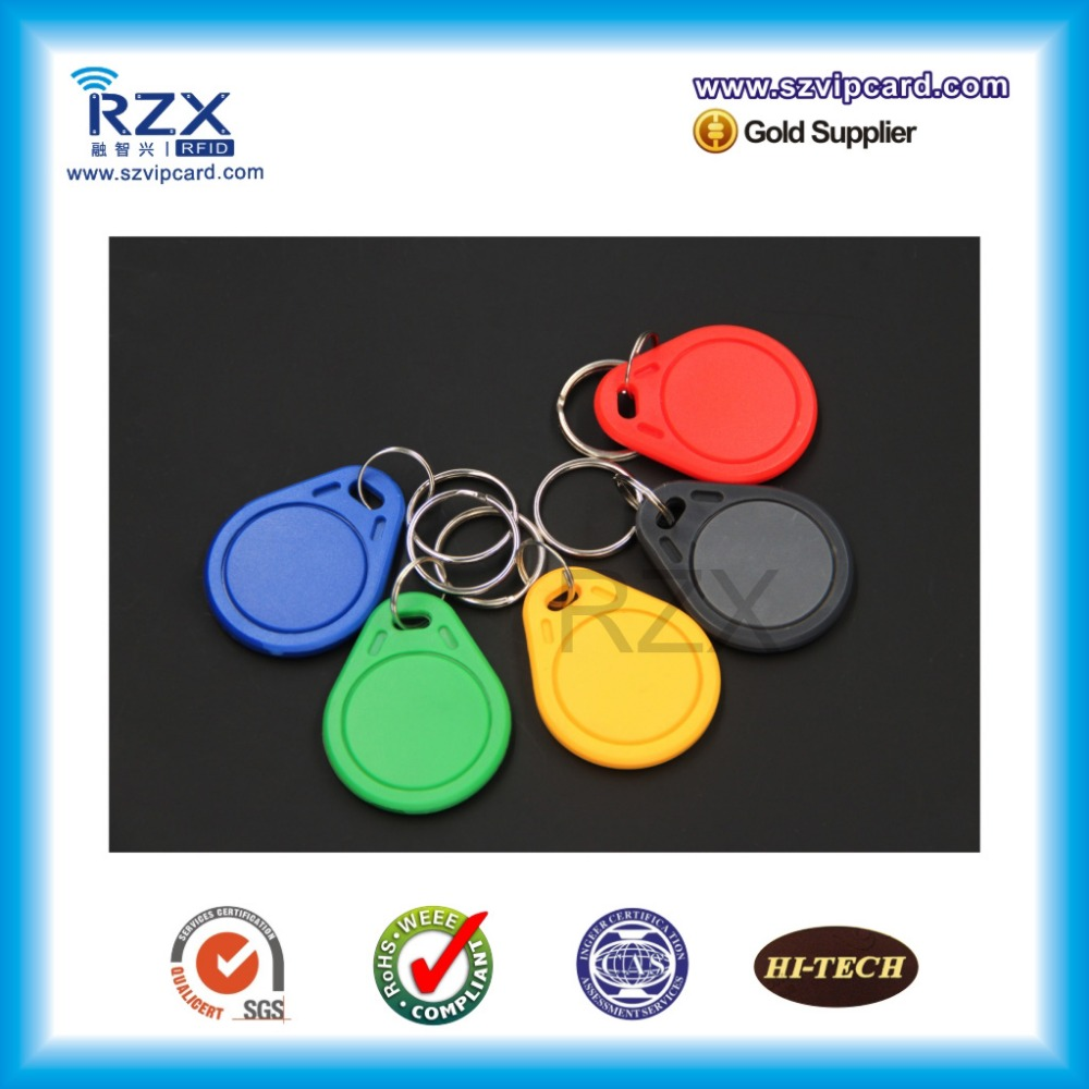 Free shipping 10pcs factory price readable and <font><b>writable</b></font> <font><b>125KHz</b></font> <font><b>T5577</b></font> <font><b>rfid</b></font> keyfob image