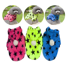 купить Stars Fleece Pet Dog Clothes Spring Dog Dogs Jackets 2019 Fashion Pet Clothing For Puppy Outfits Chihuahua Dog Clothes S/M/L/XL по цене 211.03 рублей