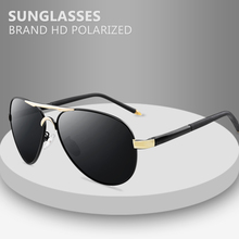 Brand Men's Sunglasses Designer Pilot Polarized Male Sun Glasses Eyeglasses gafas oculos de sol masculino For Men цена
