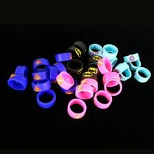 10pcs/lot newest decorative ring silicon band vape ring with super man Batman Captain America  For Melo 3  TFV4 MINI