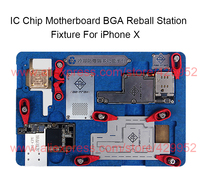 IC Chip BGA Reball Stenil Soldering Station Holder For IPhone X PCB Motherboard Fixture A11
