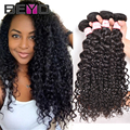 Cheap Brazilian Virgin Hair Water Wave 4 Bundles Brazilian Curly Virgin Hair 8-28 Inch Brazilian Hair Human Hair Weave Bundles