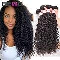Cheap Brazilian Virgin Hair Water Wave 4 Bundles Brazilian Curly Virgin Hair 8-28 Inch Brazilian Hair Human Hair Weave Bundles