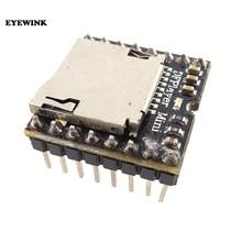 50pcs Mini MP3 เครื่องเล่น TF Card U Disk Mini MP3 เครื่องเล่นเสียงโมดูลบอร์ดสำหรับ Arduino DF เล่นขายส่ง