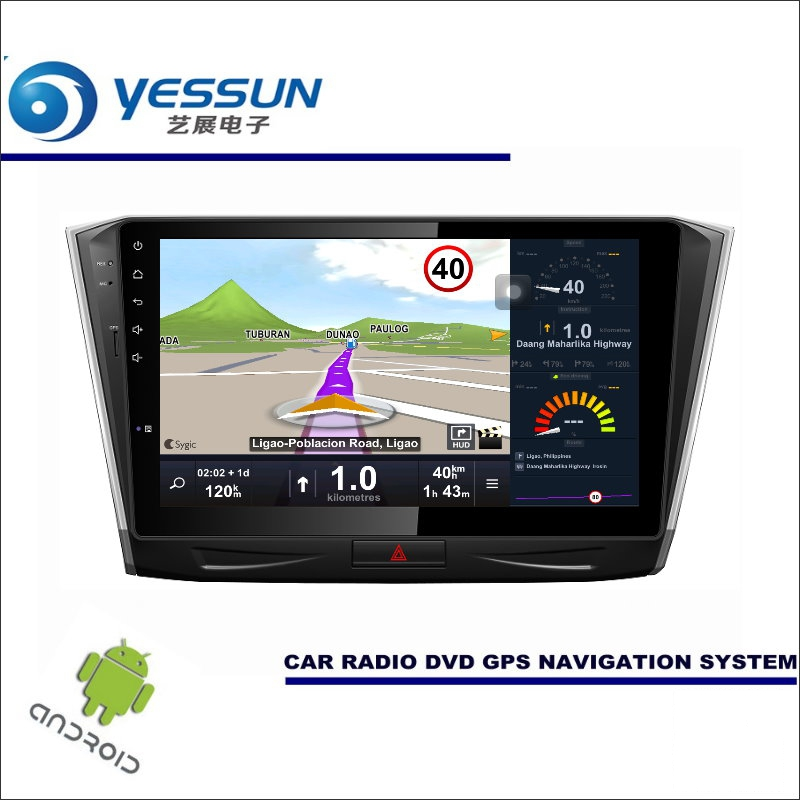 YESSUN Car Android Player Multimedia For Volkswagen VW Passat 2015 2016 - Radio Stereo GPS Nav Navi ( no CD DVD ) 10 HD Screen