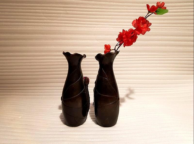 Bronze home decoration vase (6)