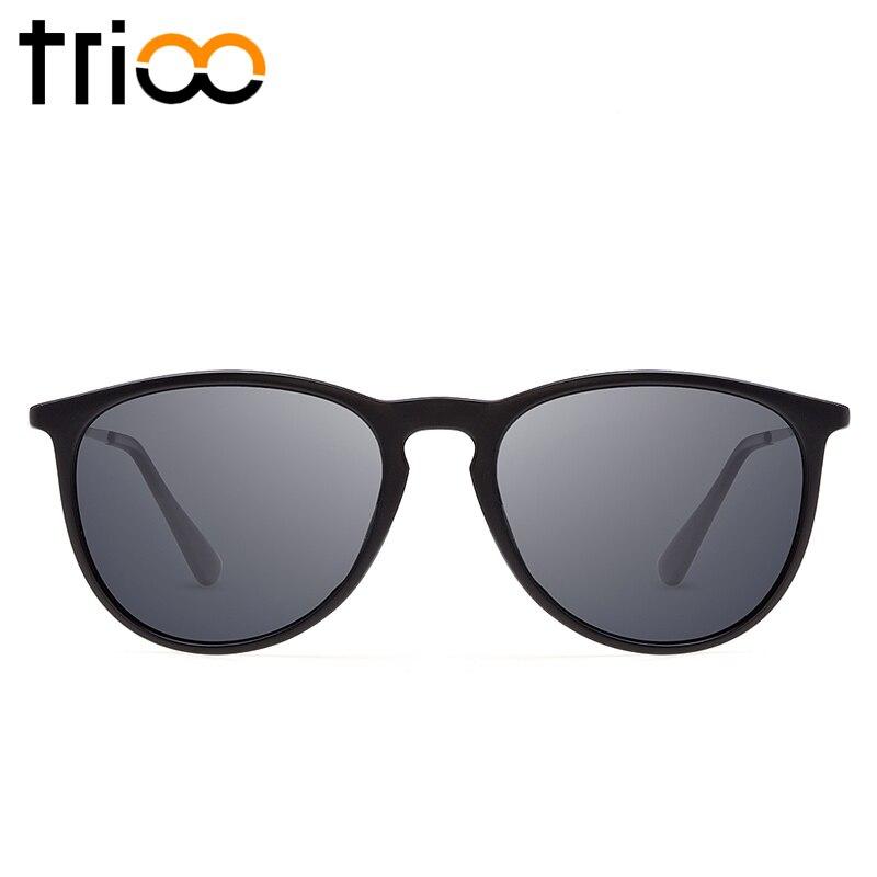 TRIOO Polariserad Spegel Solglasögon För Kvinnor Lyx Märke Färg - Kläder tillbehör - Foto 3