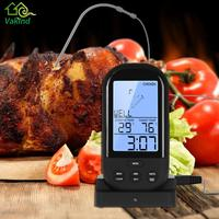 LCD Backlight Digital Wireless Meat Thermometer Remote Kitchen Oven Food Cooking Meat BBQ Thermometer Kitchen Accessories