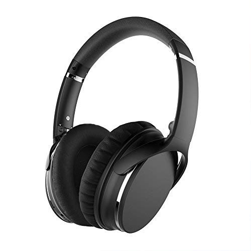 Bluetooth Wireless Noise Cancelling Headphones Over Ear HiFi Stereo Wireless Over Ear Earphones with Mic and
