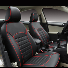 Carnong Funda de cuero para asiento de coche, ajuste adecuado para asiento de coche original, misma estructura, cubierta de protección totalmente cubierta de asiento, auto