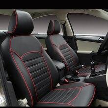 Carnong غطاء مقعد السيارة الجلود مخصص صالح لل مقعد السيارة الأصلي نفس الهيكل مغطاة بالكامل حامي غطاء مقعد السيارات
