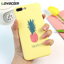 LOVECOM Cartoon Pineapple Phone Case For iPhone XR XS Max 6