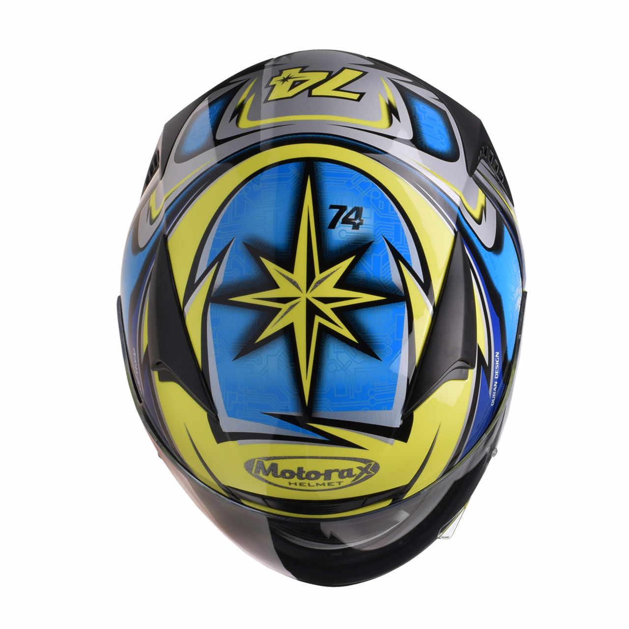 MOTORAX TR30 Corrida Casco do Capacete Da Motocicleta Rosto Cheio Capacetes Kask Casque Capacete Moto Leme Para Motociclista Moto