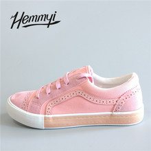 Hemmyi 2018 Spring Canvas Shoes for women Luxury Brand Tenis Feminino Women Casual Shoes Basket Femme Sapato Sneakers Shoes