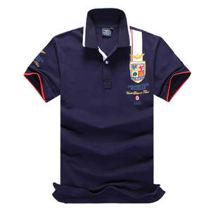 New 2018 Air Force One Top Quality Embroidery Men's Aeronautica Militare Polo Shirt Hombre Manga Corta Fashion Men Clothing