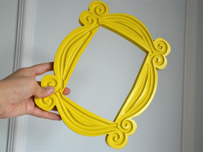 Friends Tv Show Yellow Frame Central Perk Monica's Door