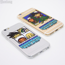 Dragon Ball Z Durable Goku Cases Cover for iPhone