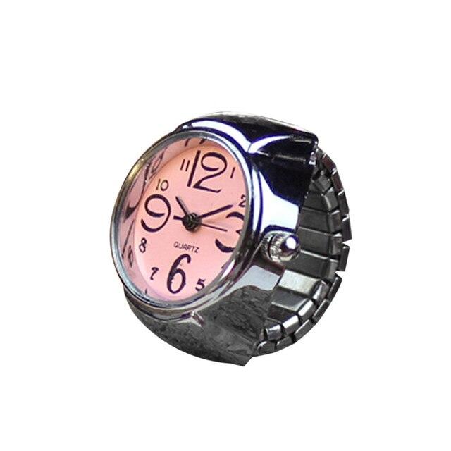 OTOKY 2018 Pocket watches Dial Quartz Analog Watch Creative Steel Cool Elastic Quartz Finger Ring Watch MAY08 D10