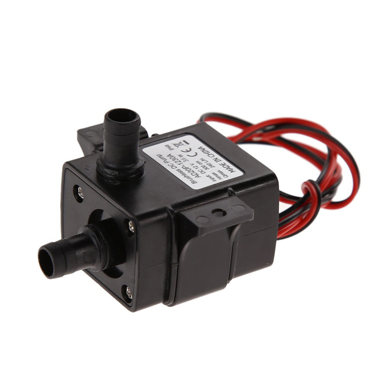 12V DC Brushless Water Pump 3M 240L H Brushless Mini Electric Submersible Water Pump ABS Ultra